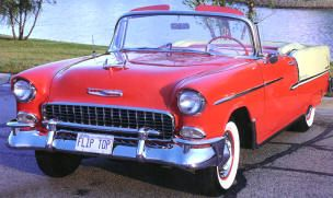 1955 Chevrolet Bel Air Convertible Classic Chevrolet Cars For