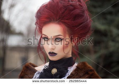 Image Result For Gothic Vampire Hairstyles Vampire Hair Gothic Vampire Hair Styles