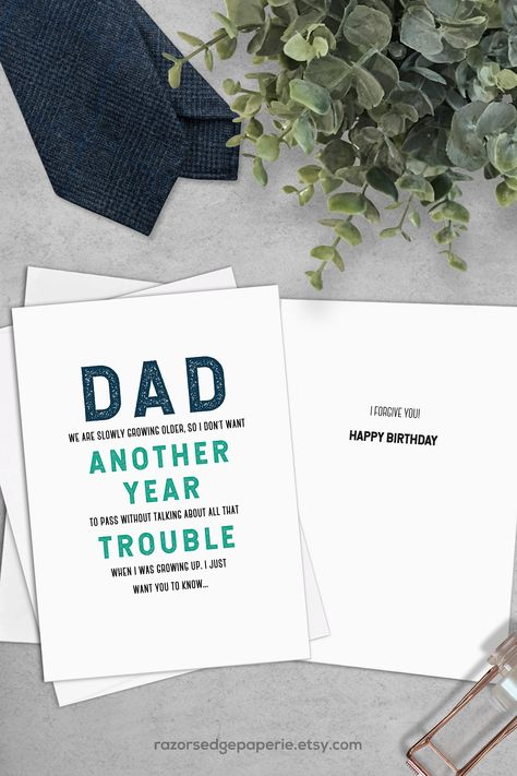Printable Funny Birthday Card Instant Download Digital Greeting Card