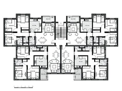 House Plans Apartment Buying Unit Building About Remodel ...