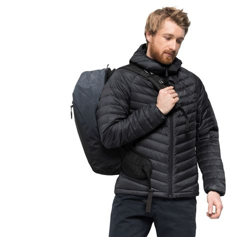 Jack Wolfskin ATMOSPHERE JKT M Down jacket men ✓ Very light