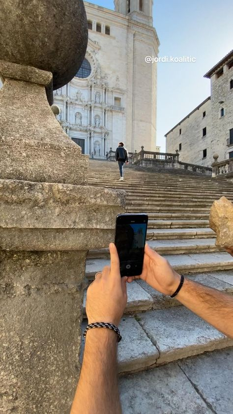 Easy phone transition - @jordi.koalitic - Girona Cathedral - Idea 18