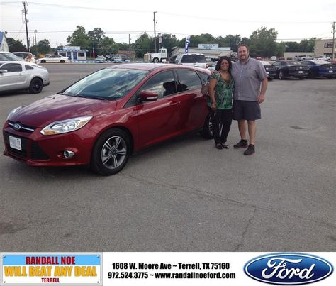 Randall Noe Ford >> Congratulations To Kristalyn Brewer On Your Ford Focus Purchase