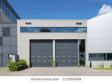 Image Result For Retail Modern Facade Metal Garage Door Design Garage Doors Side Hinged Garage Doors
