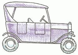How To Draw A Model T Ford Drawings