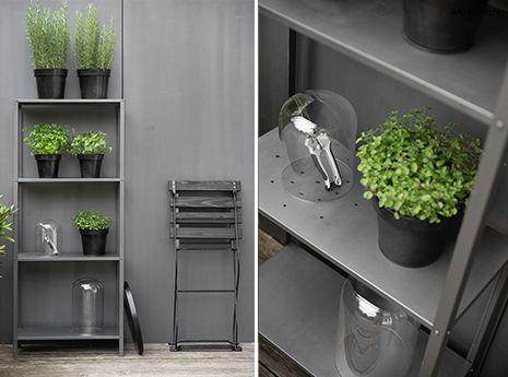 Diy Krauterregal Fur Die Terrasse Oder Den Balkon Ikea Hack In 2020 Terrasse Ikea Hack Glashaube