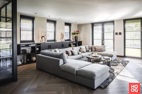 Nieuw Villa België (met afbeeldingen) | Moderne woonkamer, Woonkamer GL-28