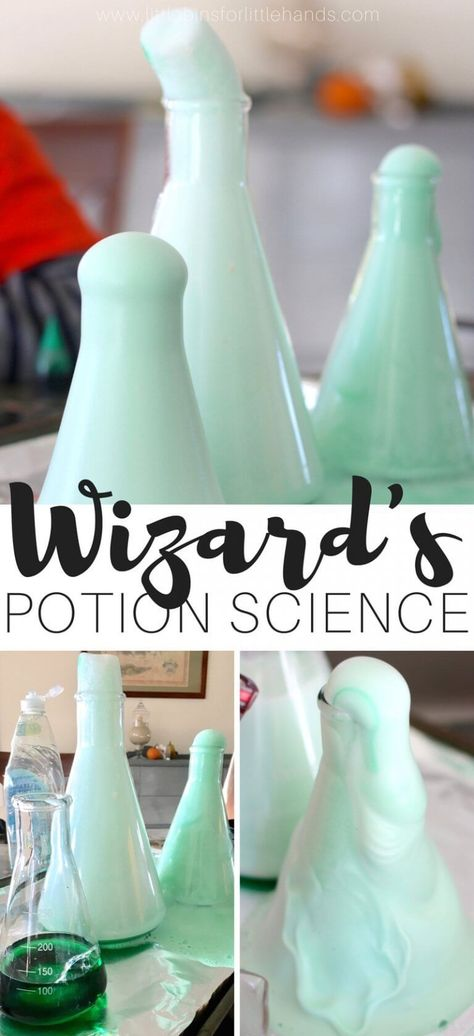 Create Wizard's Brew or Witch's Potion! (Halloween Chemistry Experiment)