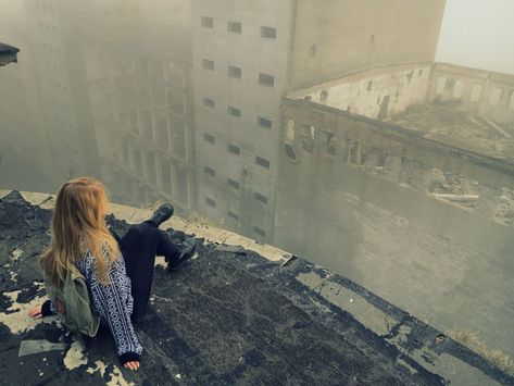 Post with 161 votes and 551905 views. Urbex in Poland Story Inspiration, Writing Inspiration, Character Inspiration, Black Canary, Pose, Maximum Ride, Post Apocalypse, Apocalypse Aesthetic, Viajes