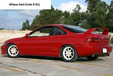 Honda Integra Type R DC2/DB8 Rear Spoiler | Spoilers | Pinterest | Honda,  Jdm And Paint Color Codes