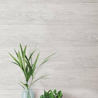 Wallpops Reclaimed Shiplap Peel And Stick 18 X 20 5 Wallpaper Roll Reviews Wayfair Wood Wallpaper Wallpaper Roll Wood Plank Wallpaper