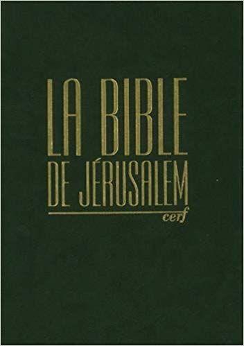TÉLÉCHARGER LA BIBLE DE JERUSALEM GRATUITEMENT