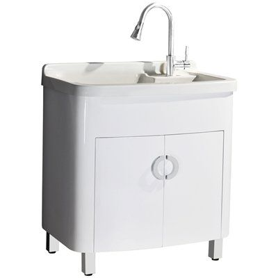 Sheffield Home LV204 White Composite Laundry Sink | House Ideas | Pinterest  | Utility Sink, Sinks And Laundry