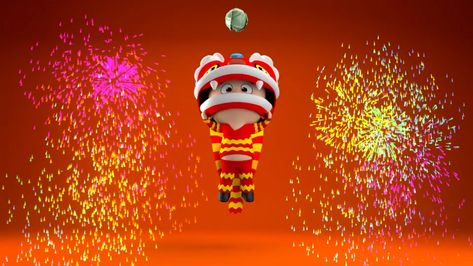 Chinese New Year 3D Animation - After Effects Template