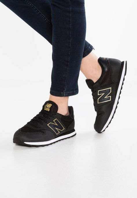 GW500 - Sneaker low - black/gold @ Zalando.de ...