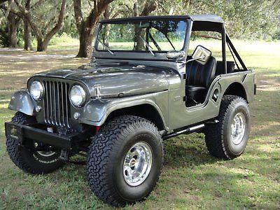 Ebay 1961 Jeep Cj Cj 5 1961 Jeep Willys Cj 5 Gorgeous Restoration