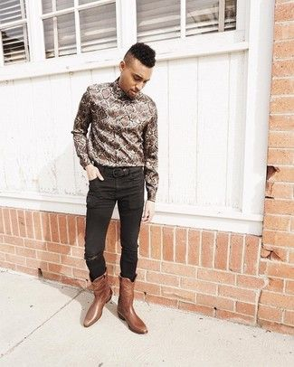 How To Wear Cowboy Boots Men