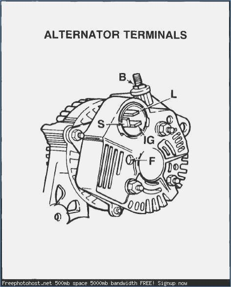 Toyota Alternator Wiring Harness - Electrical Schematic