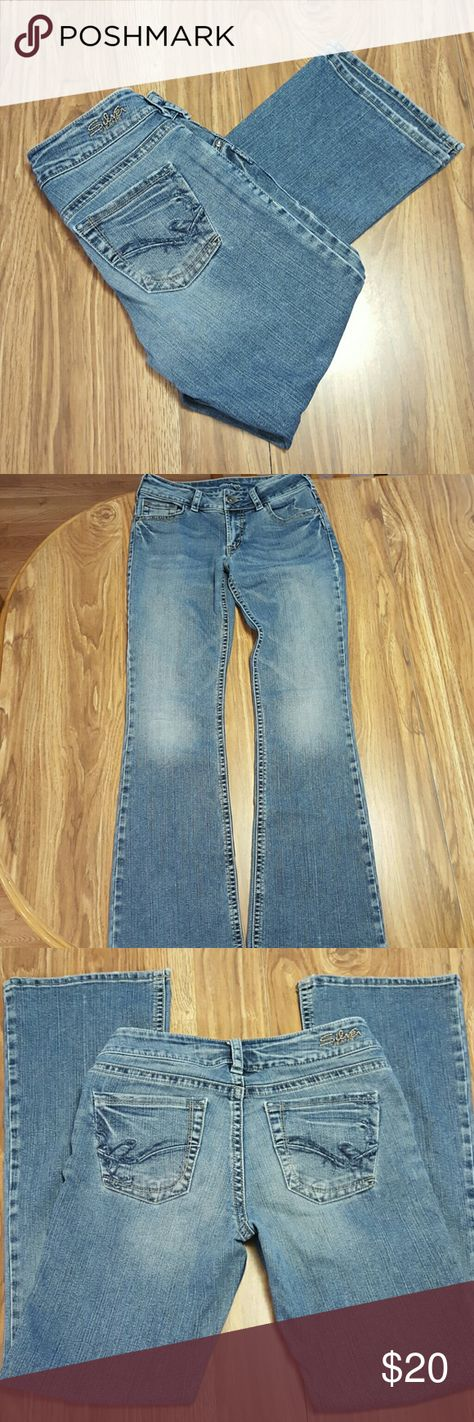 💥Silver jeans Medium wash jeans, great condition, Suki design, inseam is 32 inches.  Comes from smoke/pet free home and washed in perfume/dye free detergent.  Make an offer! Silver Jeans Jeans Boot Cut