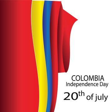 كولومبيا علم الاستقلال اليوم خلاصة الخلفية راية Png والمتجهات للتحميل مجانا Colombia Independence Day Independence Day Flag Independence Day