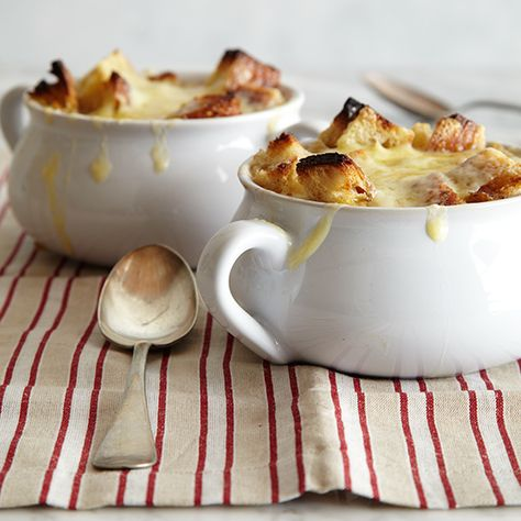 This classic French onion soup has a rich, smoky pork broth and is easy to make using our step-by-step tutorial.