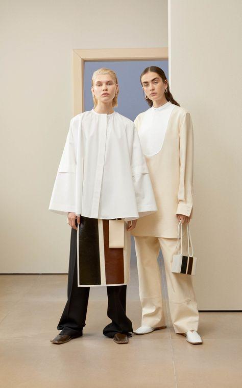 Jil Sander Larissa Color-Block Wool-Blend Skirt