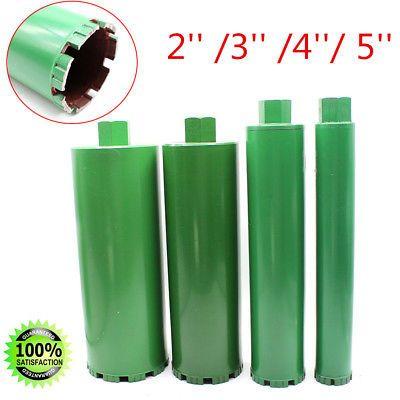 Sponsored Ebay 4 Wet Diamond Core Drill Bit Kit For Concrete Premium Green 2 3 4 5 Diamond Core Drill Bits Drill Bits Concrete Bricks