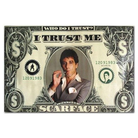 Al Pacino Scarface Movie Various Wall Art Pictures - 60x80cm / j