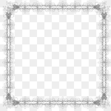 جديد المبدع برواز مربع تصميم الحدود Clipart الإطار الدانتيل نمط Png وملف Psd للتحميل مجانا Square Frames Frame Creative