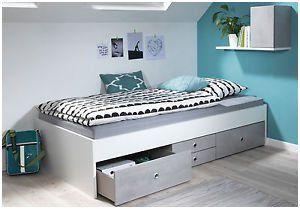 Bett 90x200 Mit Stauraum Inspirierend Welle Concrete Jugendbett