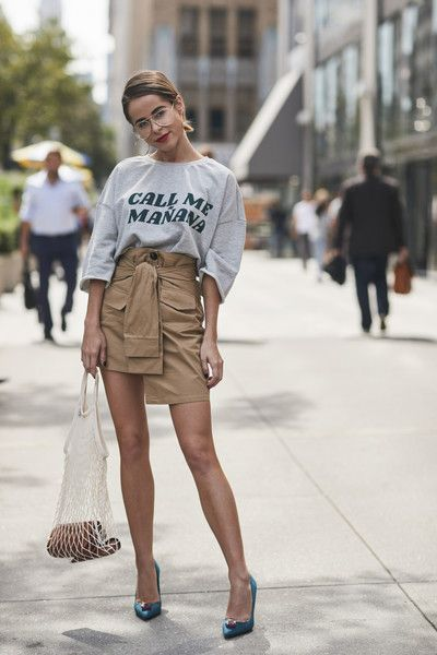 Call Me - 60 Creative Outfit Ideas From New York Fashion Week - Photos