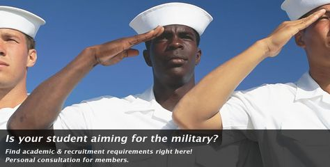 Is your student aiming for the military? Find academic and recruitment requirements right here! | HSLDA