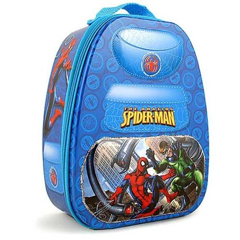 Marvel The Amazing SpiderMan Blue BackpackShaped Tin Storage Box * Want  Additional Info? Click On The Image. | Love For Marvel | Pinterest | Marvel  And ...