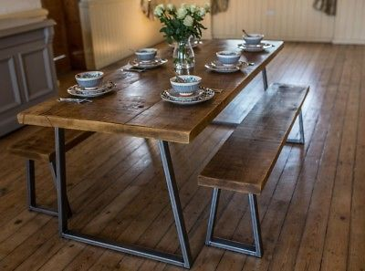 Industrial Styl Industrial Style Dining Table Dining Table