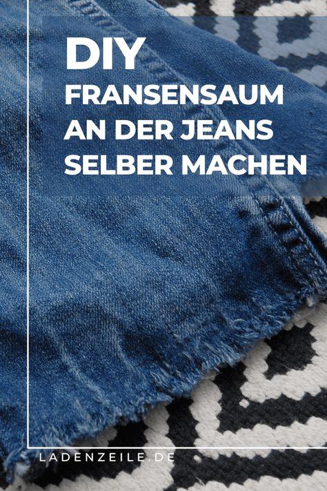 Jeans aufpeppen: Dein DIY für den Fransensaum