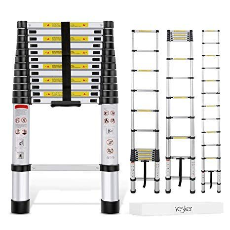 10 Best Telescoping Ladders In 2019 Dewhitehome Reviews Multi Purpose Ladder Telescopic Ladder Aluminium Ladder