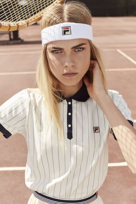 Retailer Urban Outfitters is collaborating with sportswear brand Fila for an exclusive collection. Dipping into their archives, Fila has taken their inspiration from the and to give the designs a vintage look.