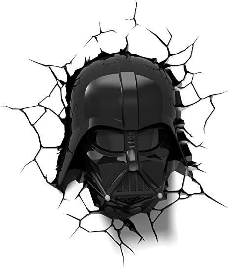 3dlightfx Star Wars Darth Vader Helmet 3d Deco Light Star Wars Darth Star Wars Darth Vader Vader Helmet