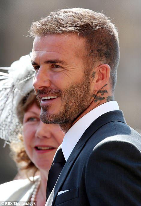 Beckhams And Clooneys Lead The A List Guests At Royal Wedding Beckham Hair David Beckham Hairstyle David Beckham Hairstyle Short
