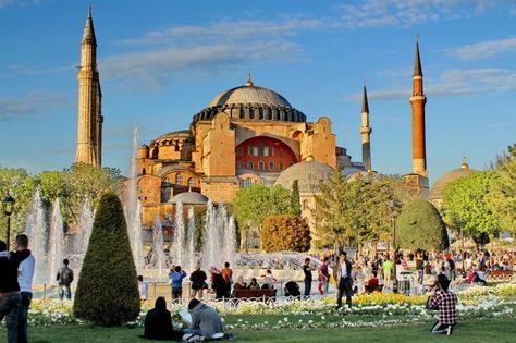 آيا صوفيا موقع عنوان رقم إسطنبول معلومات بطوطة Taj Mahal Places Travel