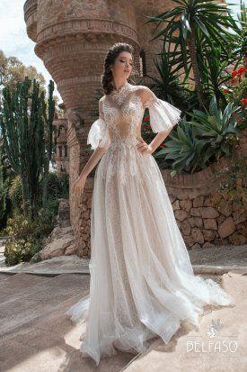 Amrita High Neck Belfaso In 2020 Elegant Bridal Gown Wedding Dresses Bridal Dresses