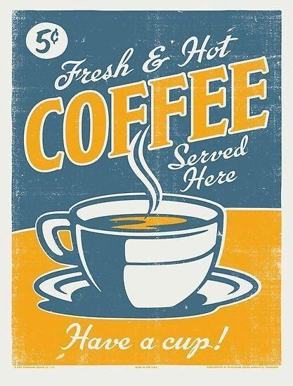Pin By Ruth Copely On Vintage Illustration Vintage Coffee Poster Vintage Coffee Coffee Poster