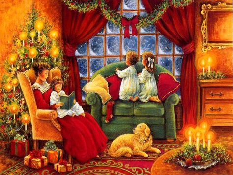 Old Fashioned Christmas Pictures.Pinterest