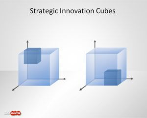 Free Strategy Innovation Cube Template For Powerpoint  D