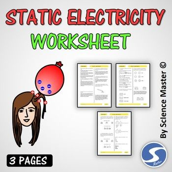 24++ Conventional static electricity worksheet information