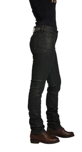 Rokker Women S Jeans Rokkertech Lady Black Motorcycle Riding Pants Motorcycle Style Women Leather Vest