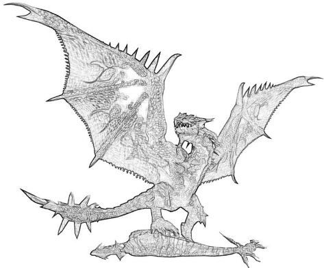 Monster Hunter Rathalos Wyvern Coloring Pages Monster Hunter Rathalos Monster Hunter Coloring Pages