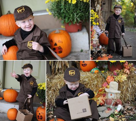 UPS Delivery! #costume #kids #halloween