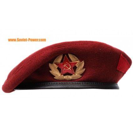 Maroon Beret Military Russian Spetsnaz Hat Military Beret Army Beret Military Outfit