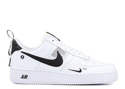Air Force 1 07 Lv8 Overbranding Nike Aj7747 100 White White Black Tour Yellow Nike Air Force Nike Air Force